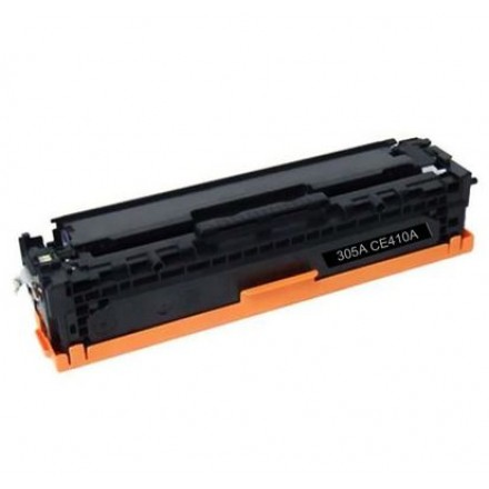 Remanufactured HP CE410A (HP 305A) black laser toner cartridge