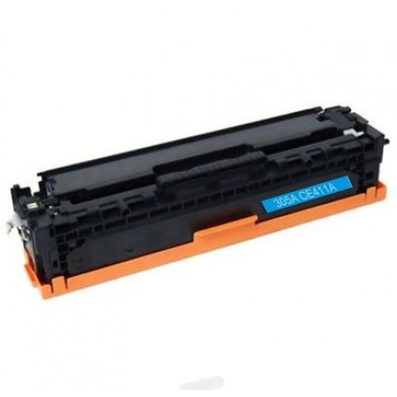 Remanufactured HP CE411A (HP 305A) cyan laser toner cartridge
