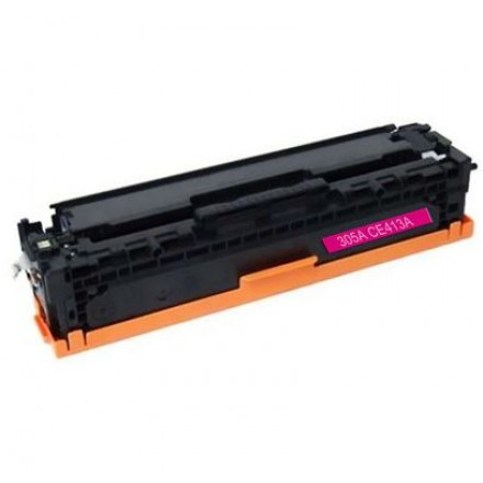 Remanufactured HP CE413A (HP 305A) magenta laser toner cartridge
