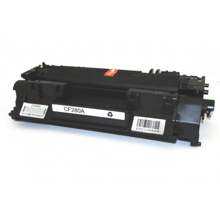 Compatible HP CF280A (HP 80A) black laser toner cartridge