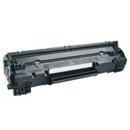 Compatible HP CF283A (HP 83A) black laser toner cartridge
