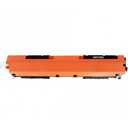 Compatible HP CF350A (130A) black laser toner cartridge