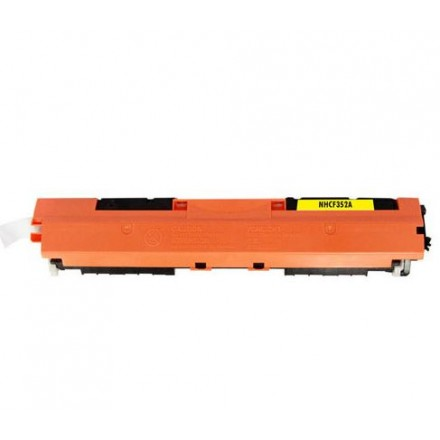 Compatible HP CF352A (130A) yellow laser toner cartridge
