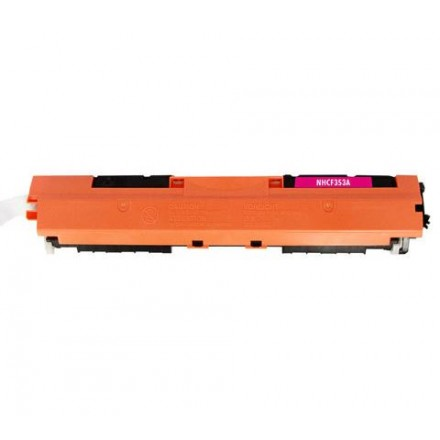 Compatible HP CF353A (130A) magenta laser toner cartridge