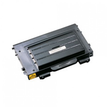 Remanufactured alternative to Samsung CLP-500D7K black laser toner cartridge