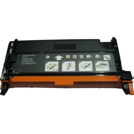 Remanufactured Xerox 006R01395 black laser toner cartridge