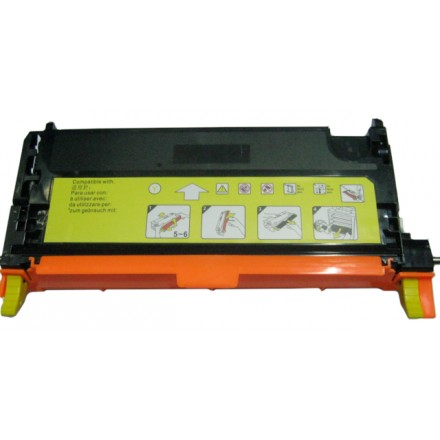 Remanufactured Xerox 006R01396 yellow laser toner cartridge