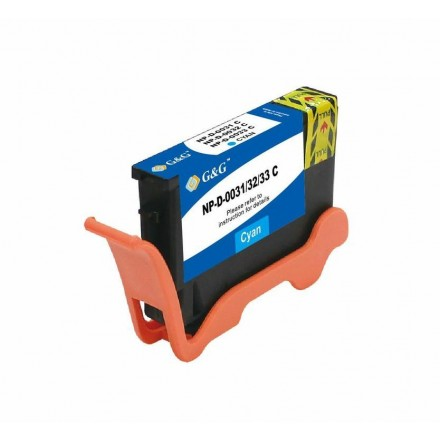 Compatible Dell Series 31/32/33/34 extra high yield cyan ink cartridge