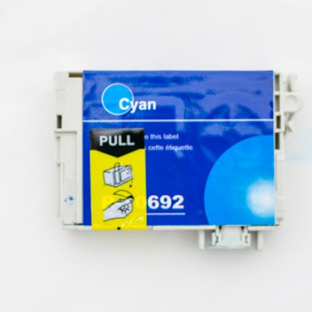 Remanufactured Epson T069220 cyan ink cartridge
