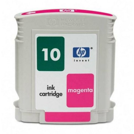 Remanufactured HP C4843AN (No. 10) magenta ink cartridge