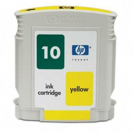 Remanufactured HP C4842AN (No. 10) yellow ink cartridge