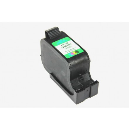 Remanufactured HP C1823A (No. 23) color ink cartridge