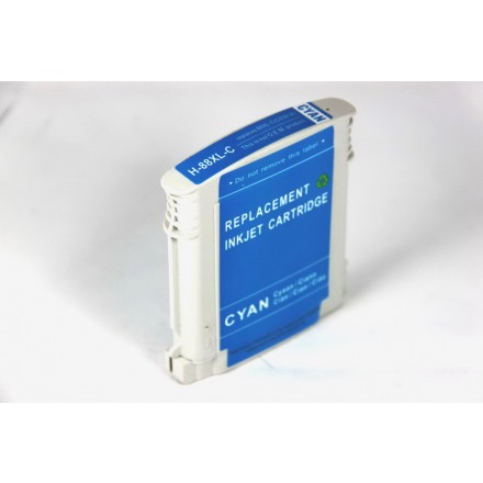 Remanufactured HP C9391AN (HP 88XL) high yield cyan ink cartridge