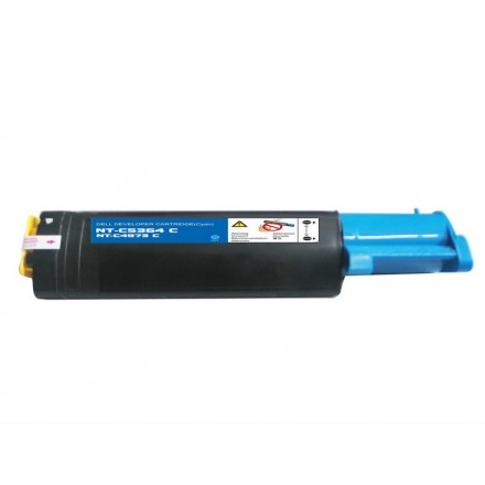 Compatible Dell 310-5731 (K5364) high yield cyan laser toner cartridge