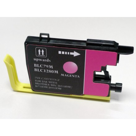Compatible Brother LC79M extra high yield magenta ink cartridge