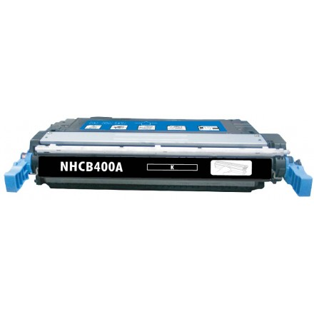 Remanufactured HP CE400A (HP 507A) black laser toner cartridge