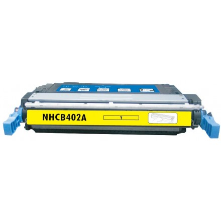 Remanufactured HP CE402A (HP 507A) yellow laser toner cartridge