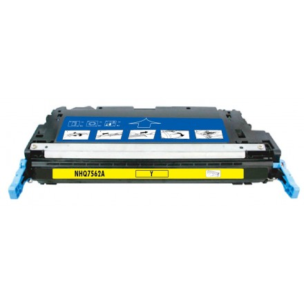 Remanufactured HP Q7562A (HP 314A) yellow laser toner cartridge