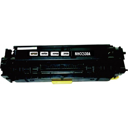 Remanufactured HP CC530A (HP 304A) black laser toner cartridge