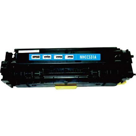 Remanufactured HP CC531A (HP 304A) cyan laser toner cartridge