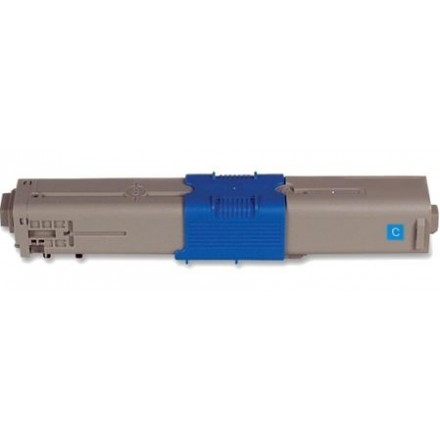 Compatible Okidata 44469721 high capacity cyan laser toner cartridge