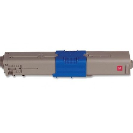 Compatible Okidata 44469720 high capacity magenta laser toner cartridge