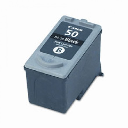 Remanufactured Canon PG-50 high yield black ink cartridge