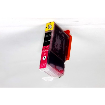 Compatible Canon PGI-9M magenta inkjet cartridge with chip