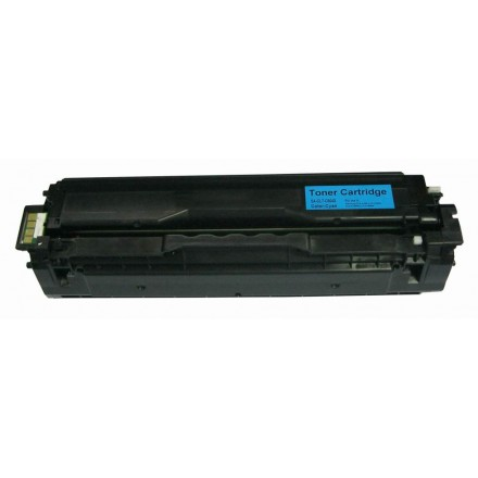 Remanufactured alternative to Samsung CLT-C504S cyan laser toner cartridge