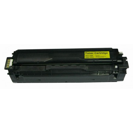 Remanufactured alternative to Samsung CLT-Y504S yellow laser toner cartridge