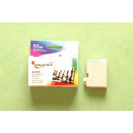 Remanufactured Epson T013201 black inkjet cartridge