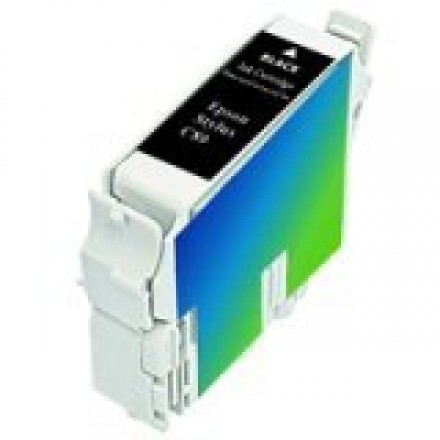 Remanufactured Epson T032120 black ink cartridge