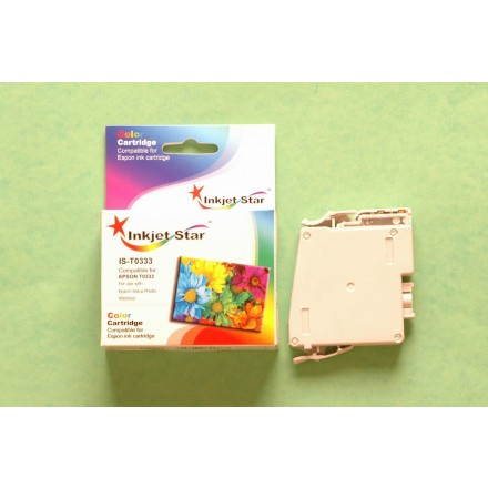 Remanufactured Epson T033320 magenta ink cartridge