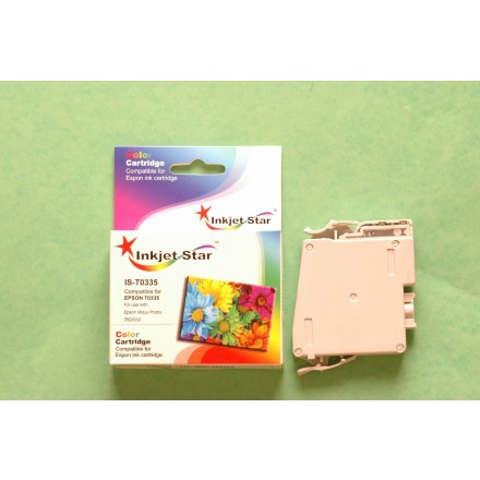 Remanufactured Epson T033520 light cyan ink cartridge