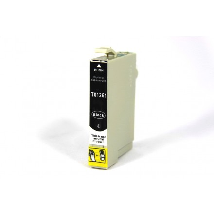 Remanufactured Epson T126120 black ink cartridge