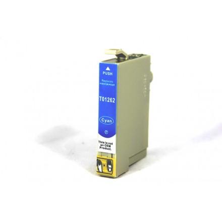Remanufactured Epson T126220 cyan ink cartridge