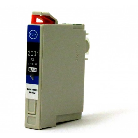 Remanufactured Epson T200XL120 high yield black ink cartridge