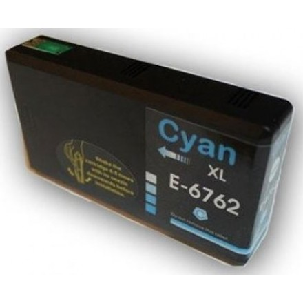 Remanufactured Epson T676xl220 High Yield Cyan ink cartridge
