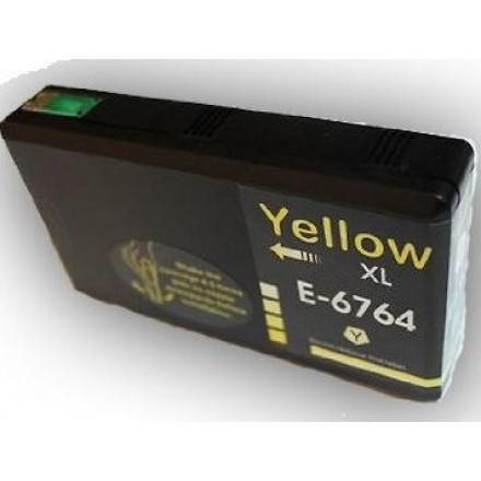 Remanufactured Epson T676xl420 High Yield Yellow ink cartridge