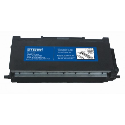 Compatible Brother TN350 black laser toner cartridge