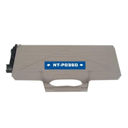 Compatible Brother TN360 black laser toner cartridge