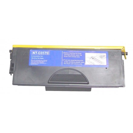 Compatible Brother TN570 high yield black laser toner cartridge