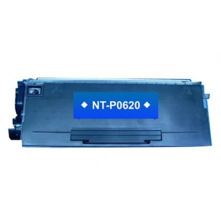 Compatible Brother TN650 high yield (replacing TN620 standard yield) black laser toner cartridge
