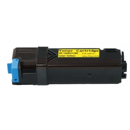 Compatible Xerox 106R01280 high yield yellow laser toner cartridge
