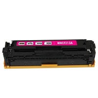 Remanufactured HP CF213A (HP 131A) magenta laser toner cartridge