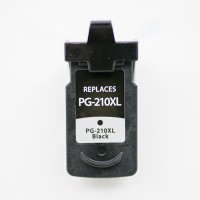 Remanufactured Canon PG-210XL high capacity black ink cartridge