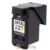Remanufactured Canon CL-241XL color ink cartridge