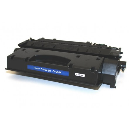 Compatible HP CF280X (HP 80X) black laser toner cartridge